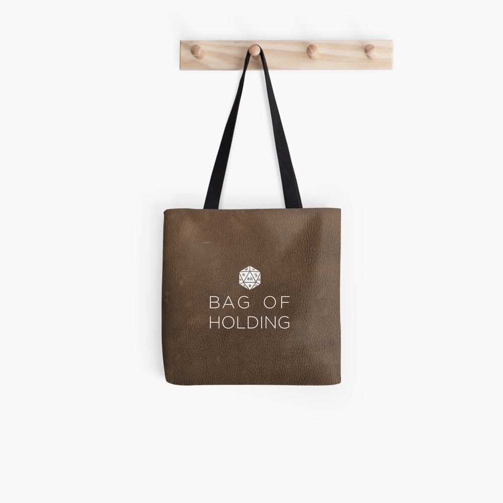 Bag of Holding-D20 Tote Bag