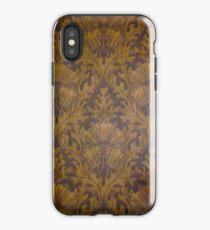 Linoleum Wallpaper from Victorian Era Home iPhone Case