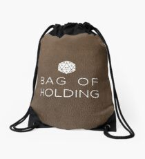 Bag of Holding-D20 Drawstring Bag