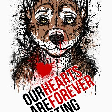 hearts forever beating (canidae) by mutinydesigns
