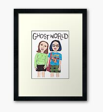 Ode to Ghost World  Framed Print
