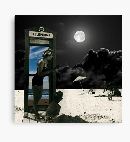 A call for sunny skies Canvas Print