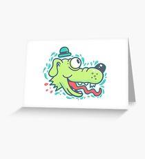 GA HYUK Greeting Card