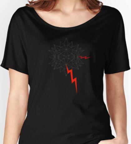 Geo Node Agressor v2 Women's Relaxed Fit T-Shirt