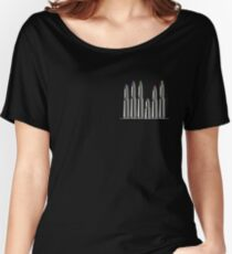 bullets crayons Women's Relaxed Fit T-Shirt