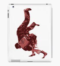 Judo Throw in Gi Red iPad Case/Skin