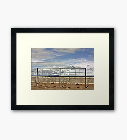 Swings & No Roundabout Framed Print