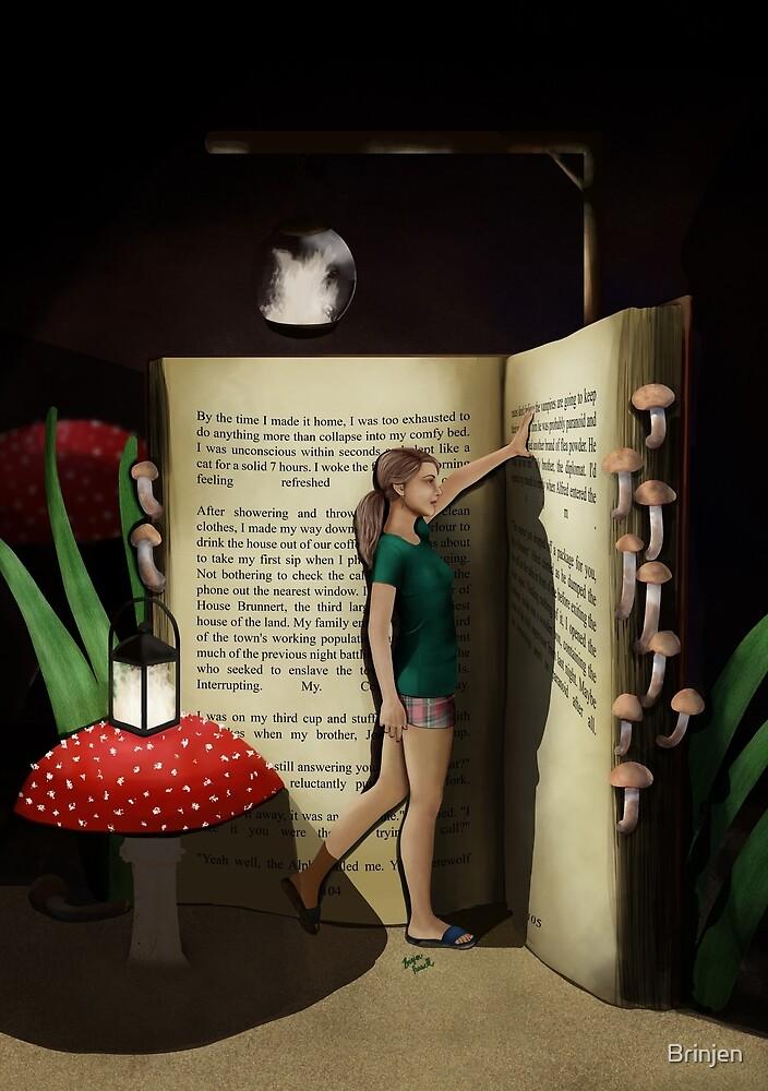 The Love of Reading by Brinjen