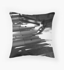 Lying in wait ... Throw Pillow