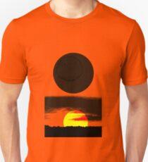 Sunset Abstract Unisex T-Shirt