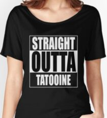 Straight OUTTA Tatooine - Star Wars Women's Relaxed Fit T-Shirt