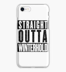 Adventurer with Attitude: Winterhold iPhone Case/Skin