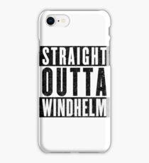 Adventurer with Attitude: Windhelm iPhone Case/Skin