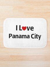 I Love Panama City Badematte