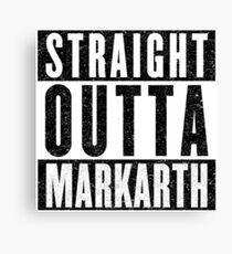 Adventurer with Attitude: Markarth Canvas Print