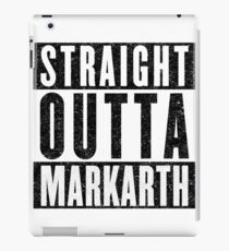 Adventurer with Attitude: Markarth iPad Case/Skin