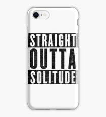 Adventurer with Attitude: Solitude iPhone Case/Skin