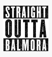 Adventurer with Attitude: Balmora Photographic Print