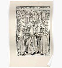 Opera Hrosvite, Illustrious virgin nun and genuine Albrecht Durer 1501 0036 Poster