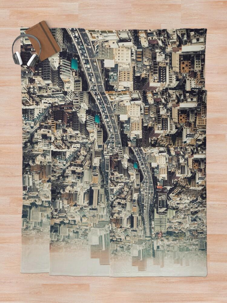 Alternative Ansicht von Von Shibuya nach Roppongi Fleecedecke