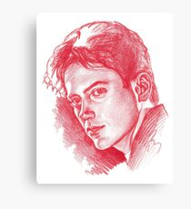 Baby Downey Canvas Print
