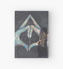 Ajna - third eye chakra mudra  Hardcover Journal