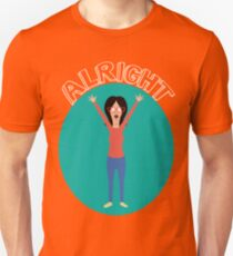 Alright! Linda Unisex T-Shirt