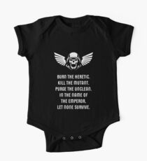 Let None Survive Wargaming Miniature Painter Short Sleeve Baby One-Piece