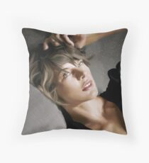 Milla Jovovich Throw Pillow