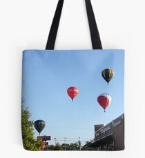 Balloons over Natchez Tote Bag