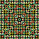 Psychedelic Weave Squared by MagickMama