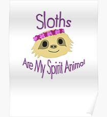 Sloth Design Poster