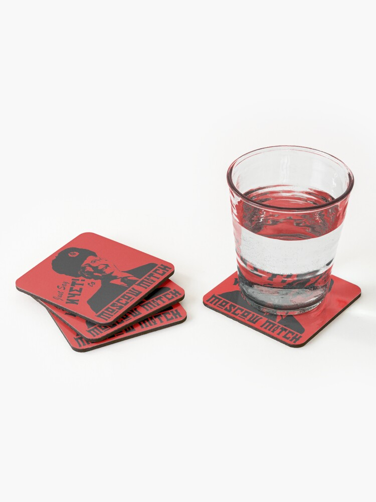 Alternate view of Just say NYET to Moscow Mitch Coasters (Set of 4)