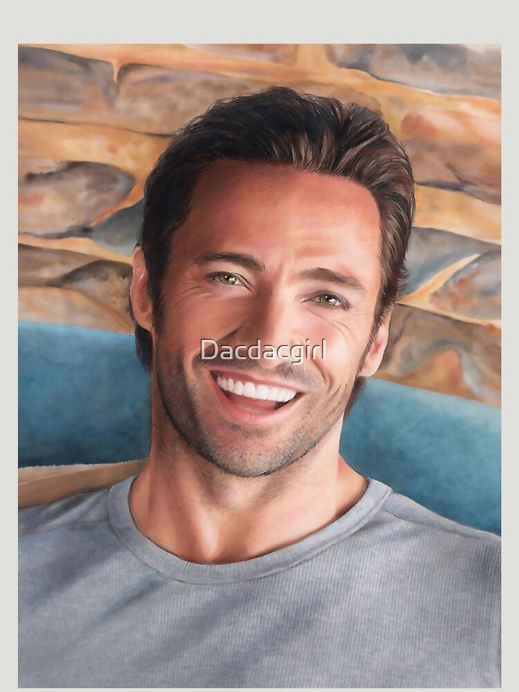 Hugh Jackman Art by Dacdacgirl