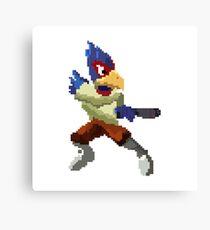 Pixel Falco Lombardi Star Fox Melee Canvas Print