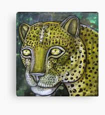 Hunting Leopard Canvas Print