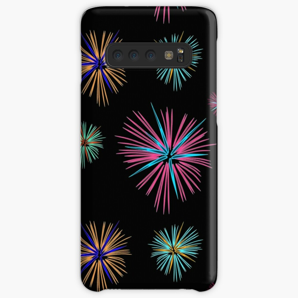 Colorful firework 2, New Year, new year Case & Skin for Samsung Galaxy