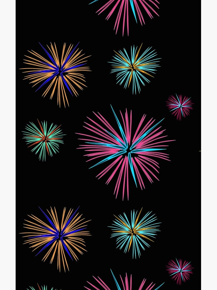 Colorful firework 2, New Year, new year by Kirei-Lily