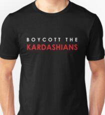 Boycott the Kardashians (Red) Unisex T-Shirt