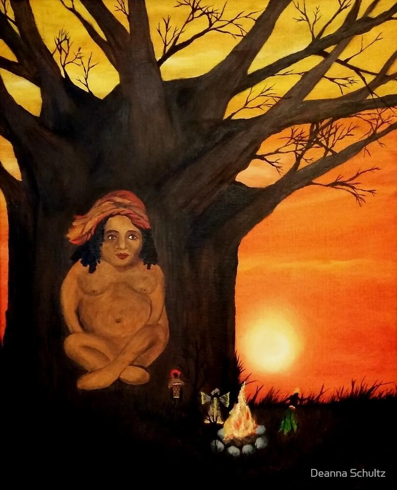 Boabob Tree by Deanna Schultz