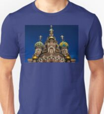 The Church of Our Saviour on the Spilled Blood T-Shirt