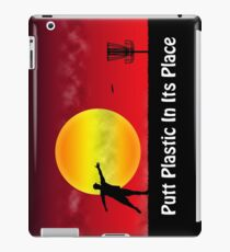 Putt Plastic In Its Place iPad Case/Skin