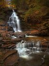Ozone Falls (in Autumn) by Aaron Campbell