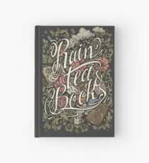 Rain, Tea & Books - Color version Hardcover Journal