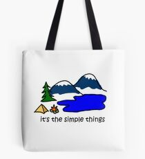Bolsa de tela Camping - Cosas simples