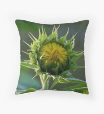 Almost In Bloom! Throw Pillow