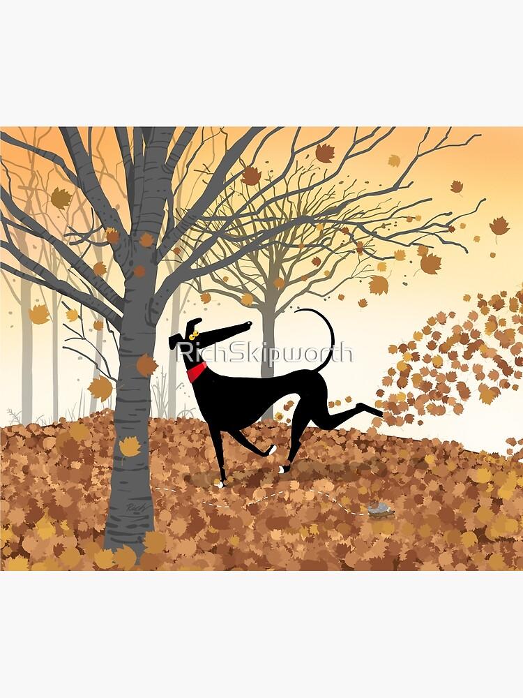 Autumn Hound by RichSkipworth