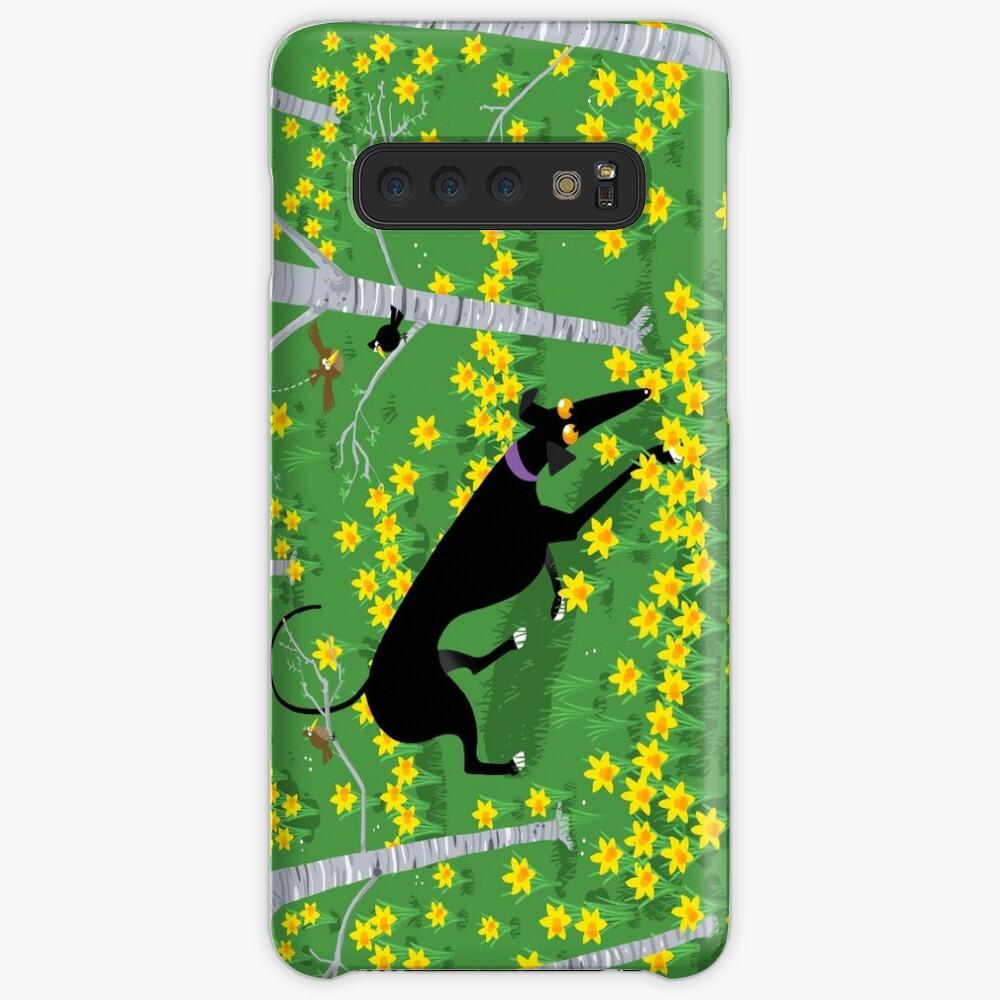 Daffodil Hound Case & Skin for Samsung Galaxy