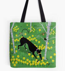Daffodil Hound Tote Bag