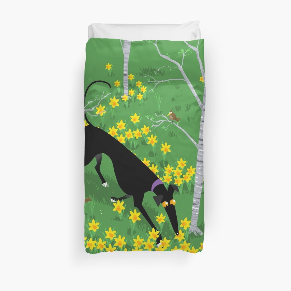 Daffodil Hound Bettbezug
